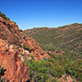 Flinders Ranges in Australien