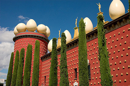 Dali Museum in Figueres / Spanien
